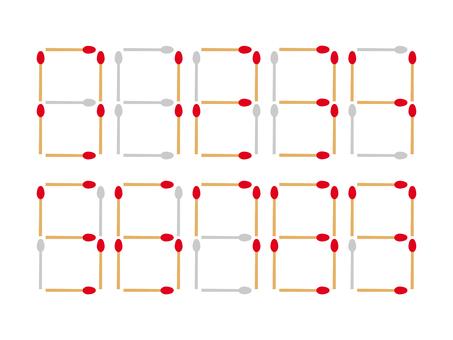 Matchstick figures