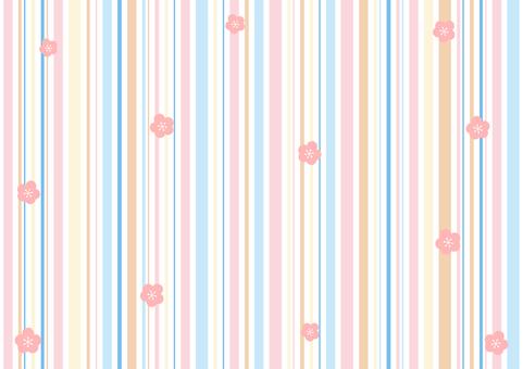 꽃 다채로운 줄무늬 배경