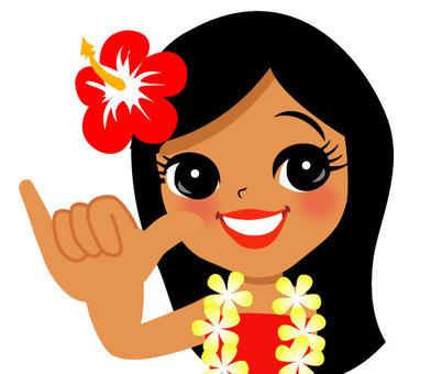 Hula Girl of Aloha Pose 036