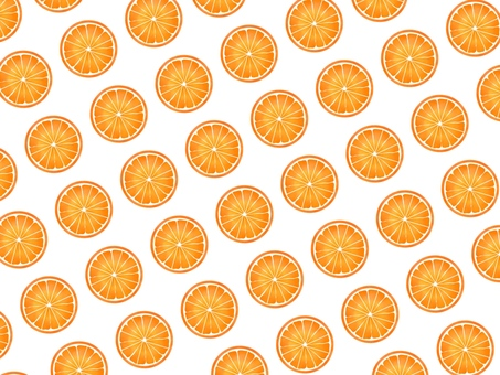 Wallpaper, round slice full of orange