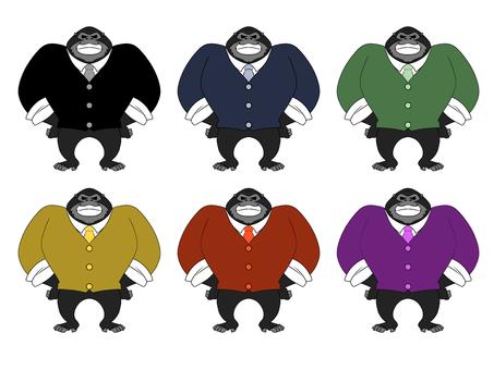 Suit gorilla