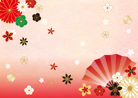 New Year _ and handle _ and paper _ background