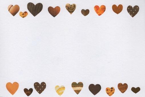 Delicious heart frame