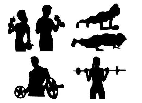 Training silhouettes