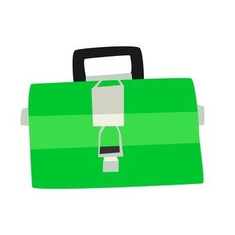 Tool box _ green