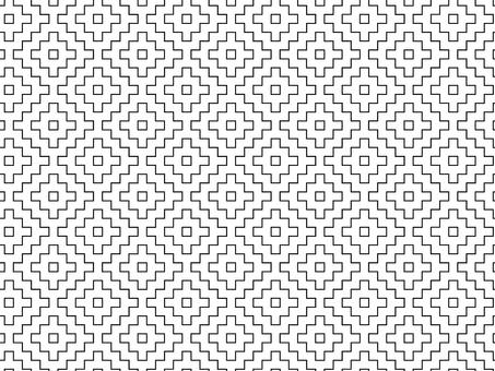 ai與色板17的幾何圖案