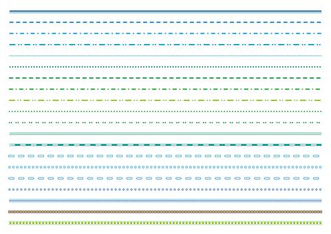 12-line / decorative rule set 1