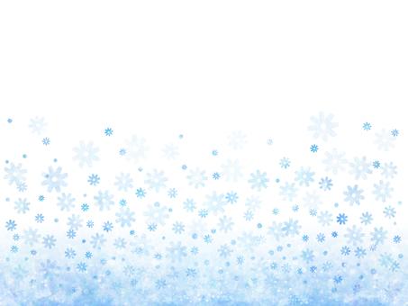 Flower frame 2 (blue)