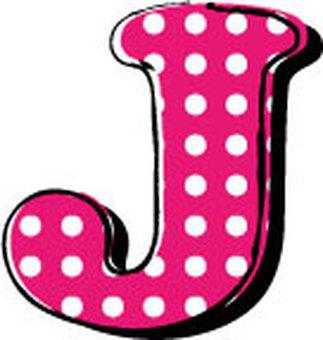 Dotted alphabet J