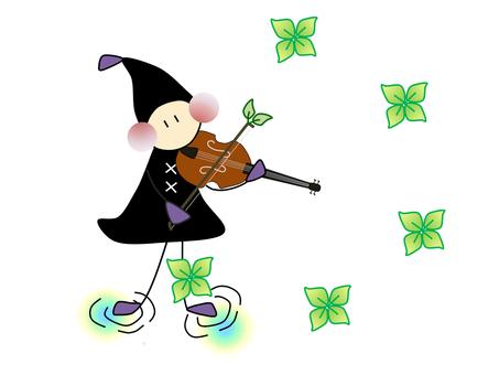 Doll _ musical instrument _ violin