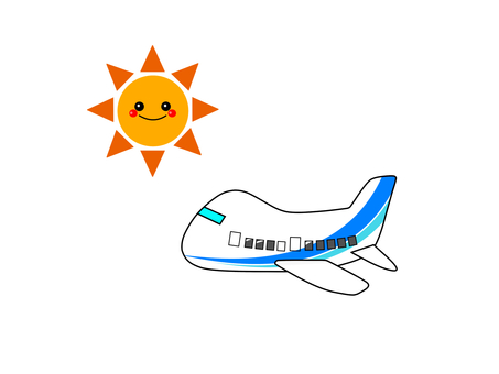 Airplane sunny