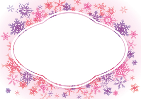 Winter Card Pink