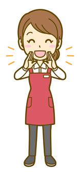 Woman (store clerk): B_ call 02 FS