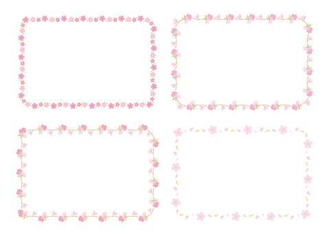 Sakura frame collection