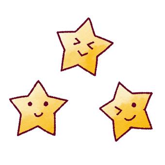 Stars (with a face)