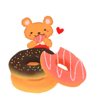 Donut and Kuma