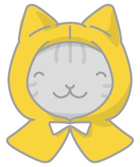 Disaster Illustration Cat Smile