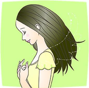 Girl who wants wings