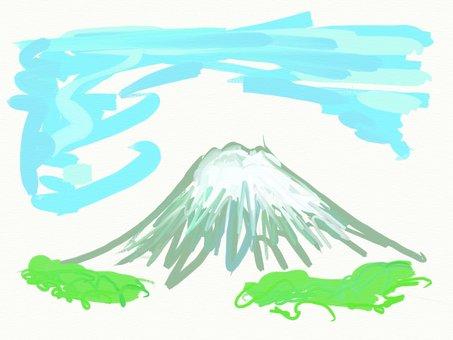 Rough Mt. Fuji