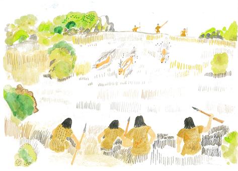 Jomon period hunting