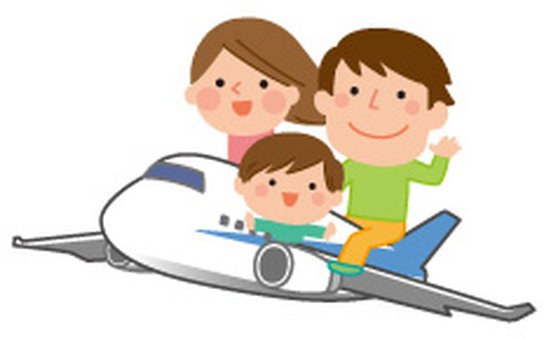 Airplane and family 4