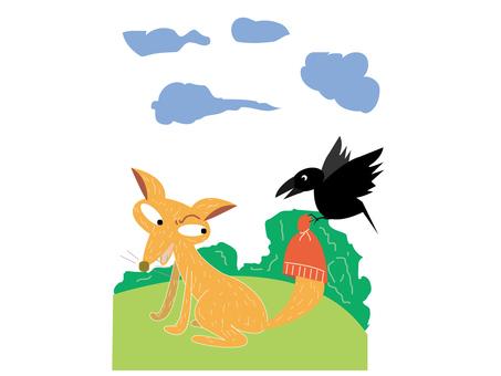 fox & crow _ fox and crow