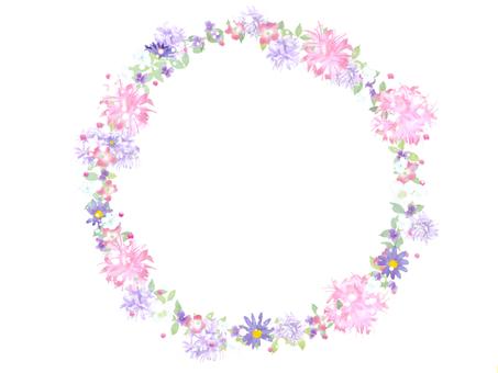 浪漫的花圈
