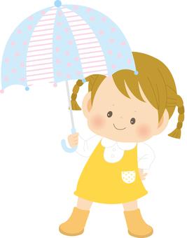 女の子_傘