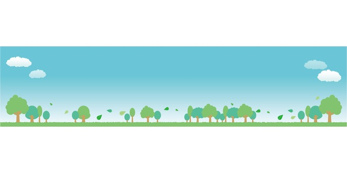 Green image banner
