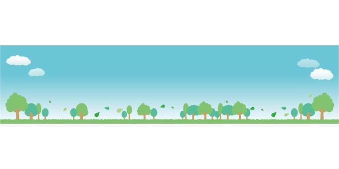 綠色圖像橫幅