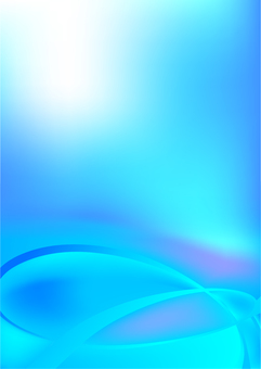 Blue streamline abstract background material