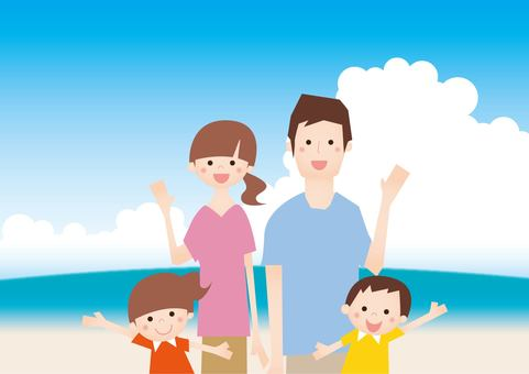 20160716 Four families in summer