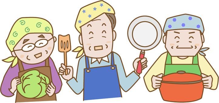 Men who cook