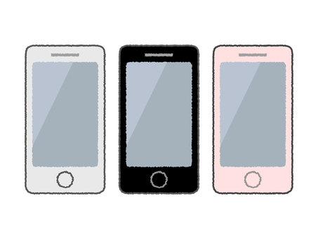 Smartphone / mobile phone illustration