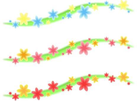 Lovely flower line