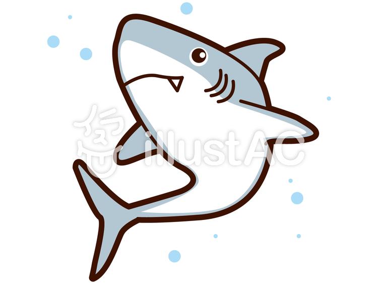 簡単 サメ イラスト 魚のペーパークラフトを無料ダウンロード! [工作・自由研究]