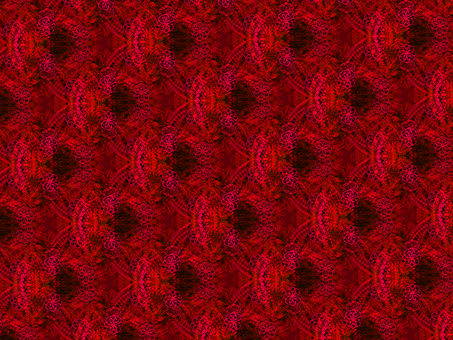 Pattern pattern (red)
