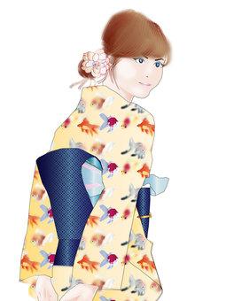 Yukata female 22