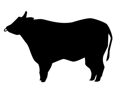Beef silhouette