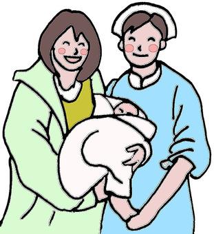 Nurse and baby 2