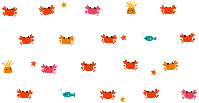 Mr. crab pattern