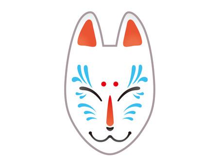 The face of a fox