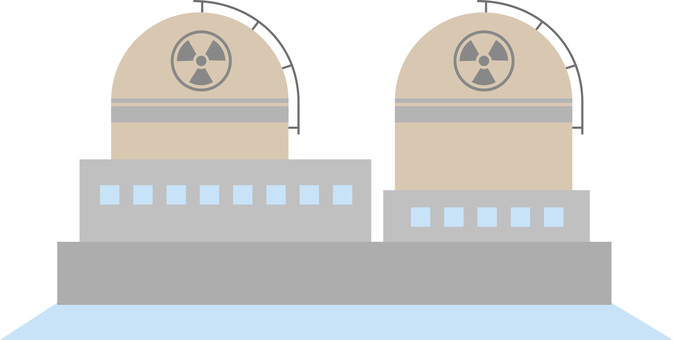 Nuclear power plant (nuclear power plant) · Electricity