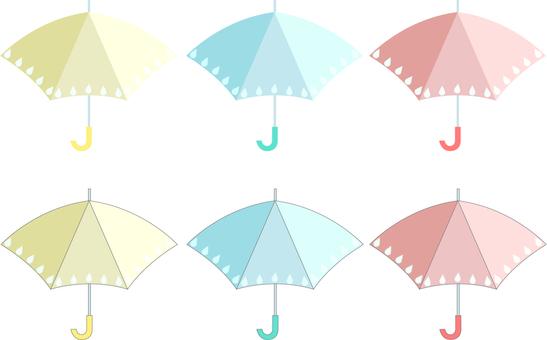 Tricolor umbrella
