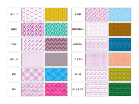 Swatch series Japanese Pattern 12 species 3