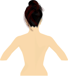 NEW Female back
