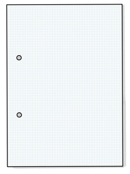 2 hole note grid