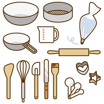 Cake making tool