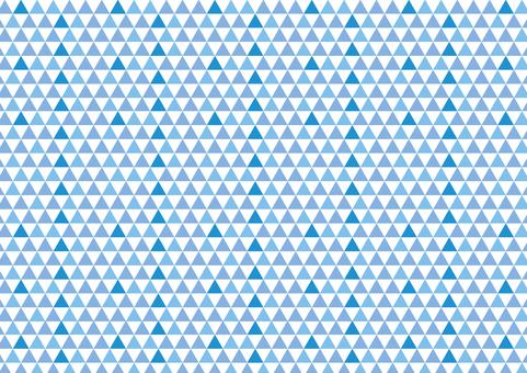 几何图案三角形蓝色
