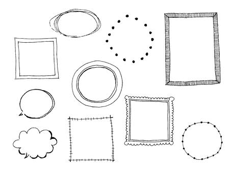 [Handwritten] Decorative frame 1
